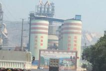 河南新乡辉县孟电水泥厂大型厂房隔音工程
