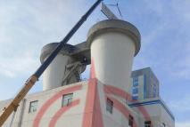 鄂尔多斯门克庆煤矿消音器安装制作工程